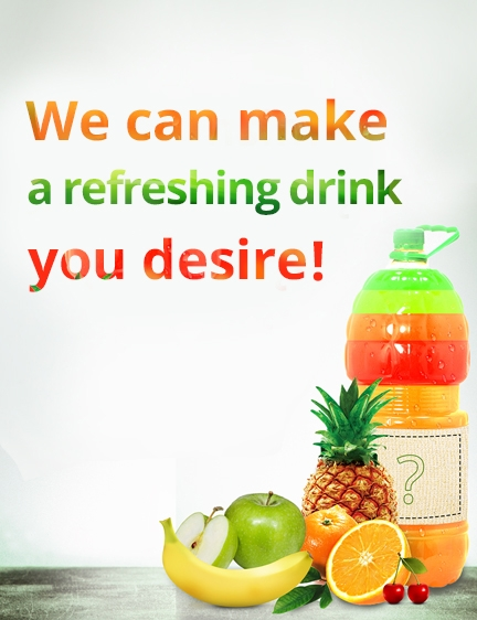 We can make a refreshing drink you desire!